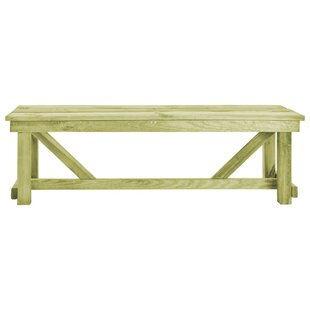 Bissonnette Wooden Bench By Sol 72 Outdoor