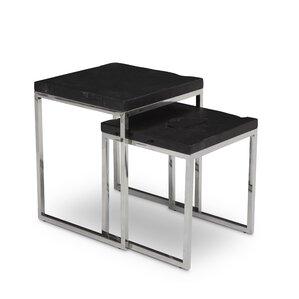 Nowlin 2 Piece Nesting Tables by Brayden Studio