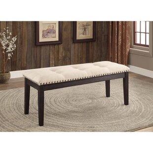 Wangaratta Upholstered Bench By Canora Grey
