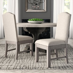 Devers Upholstered Dining Chair by Greyleigh