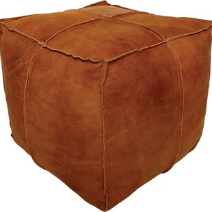Foundry Select Arbogast Leather Pouf