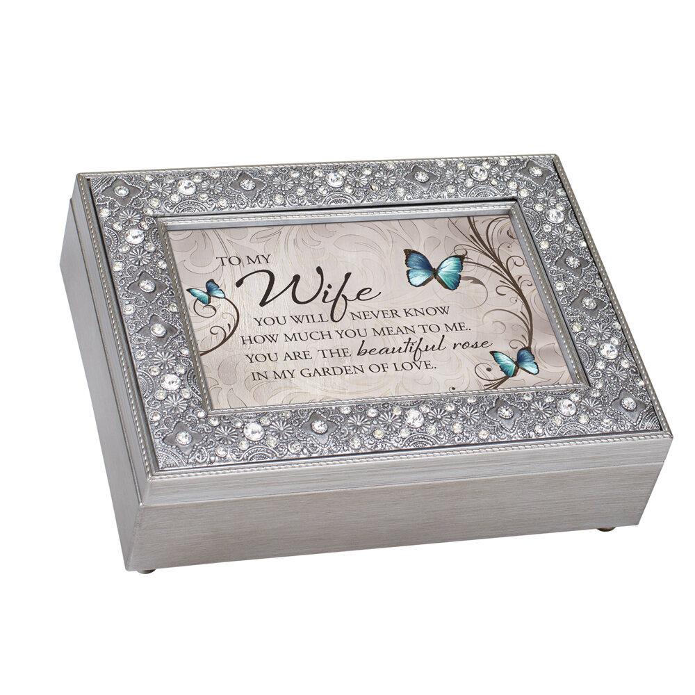 Dicksonsinc Wife You Are My Garden Of Love Decorative Box Wayfair