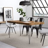 Okemah Solid Wood Dining Table by AllModern
