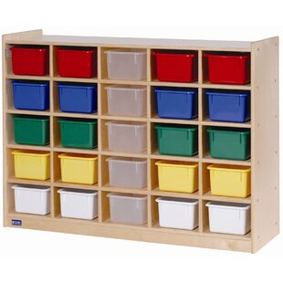 Find for 25 Compartment Cubby with Trays By Angeles