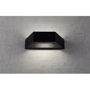 Brayden Studio Hameldon 4-Light LED Outdoor Flush Mount