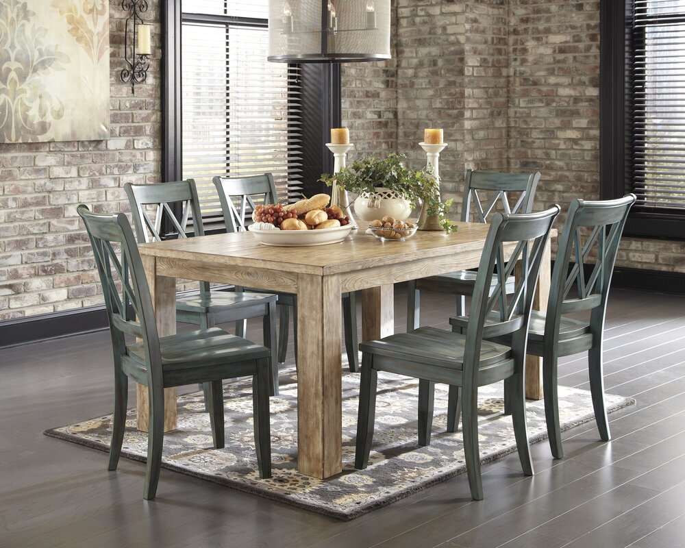 Dining Table Images loon peak castle pines dining table & reviews | wayfair