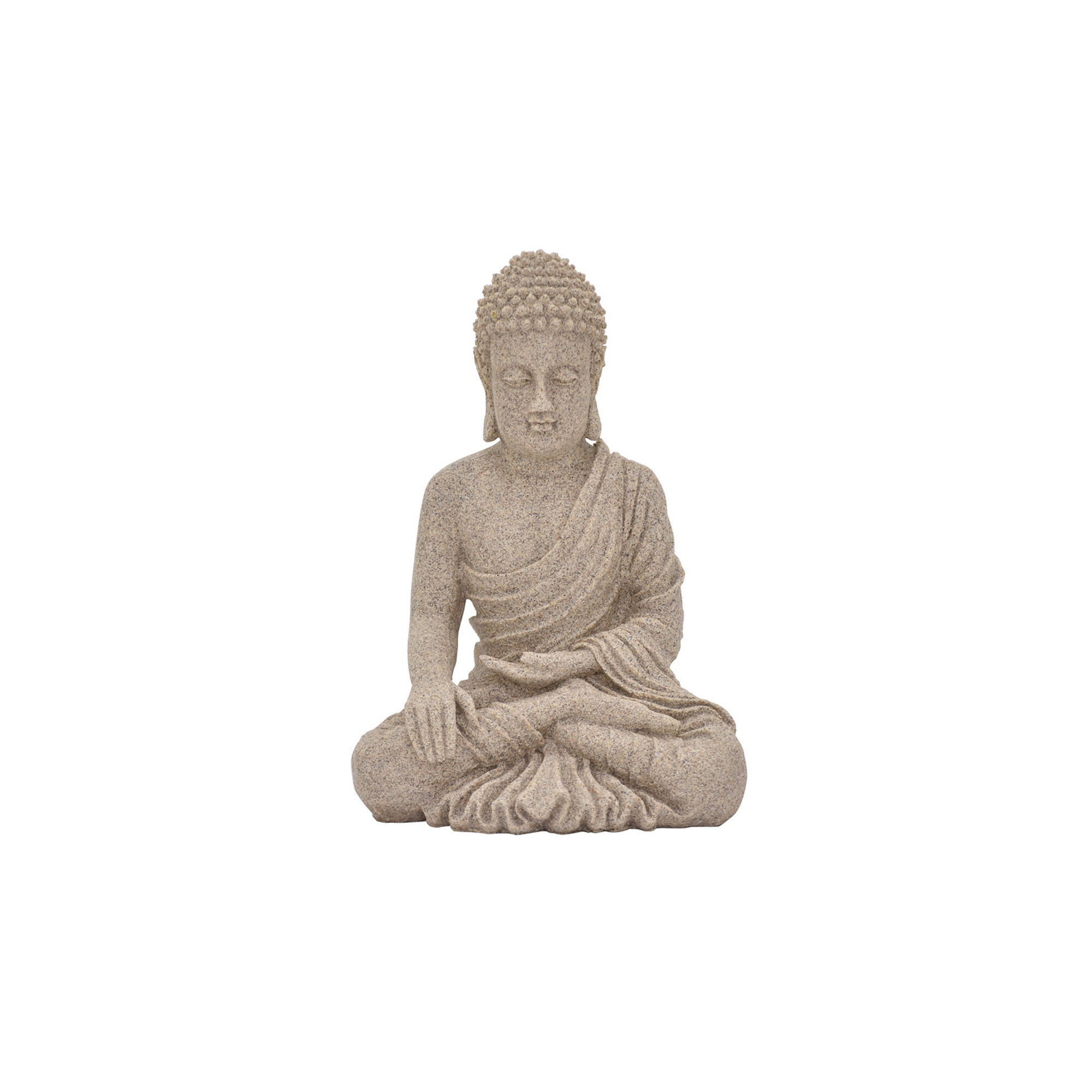 World Menagerie Ishiro Resin Buddha Sitting Figurine Wayfair