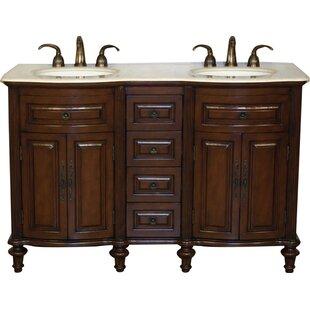 Pina 55 Double Bathroom Vanity Set by Astoria Grand