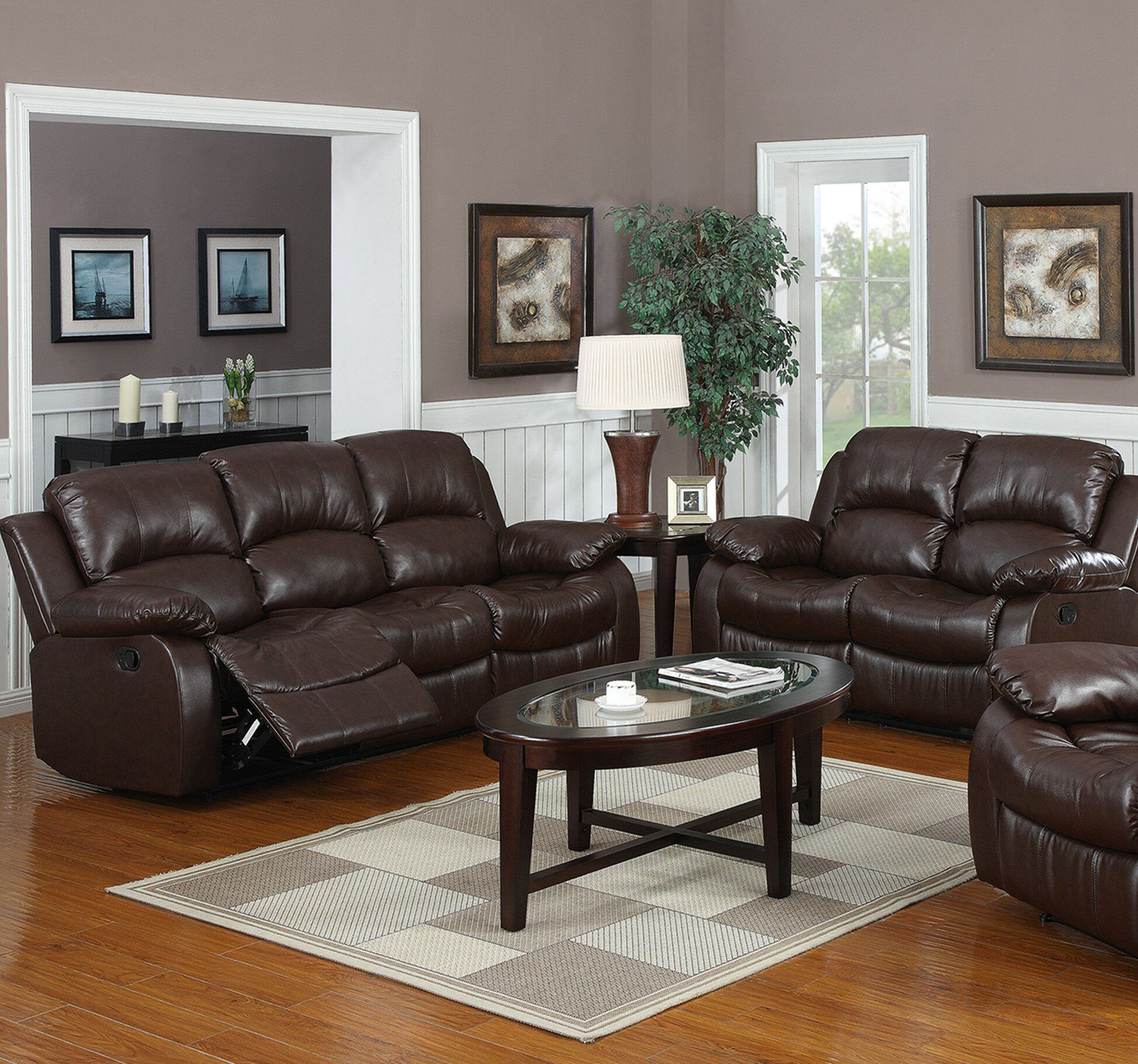 Latitude Run® Bryce 2 Piece Reclining Living Room Set & Reviews