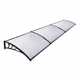 Nadene 0.1m W X 0.3m D Door Canopy By Sol 72 Outdoor