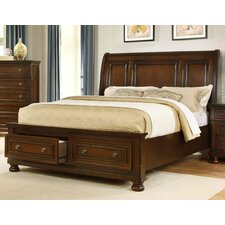 Storage Panel Bed by BestMasterFurniture