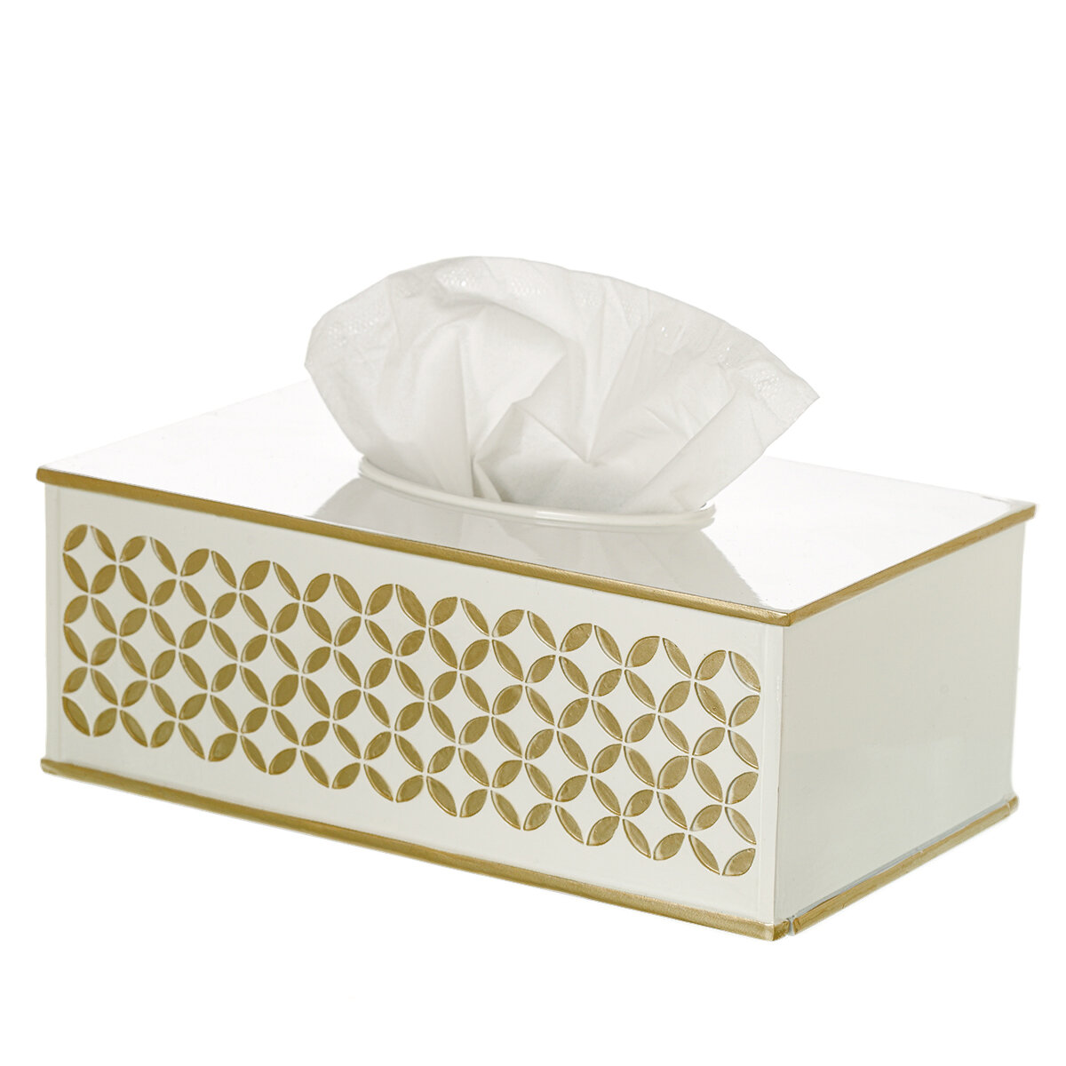 Creative Scents Diamond Lattice Rectangular Tissue Box Cover Reviews Wayfair Ca