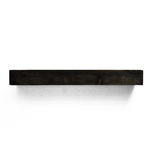 rustic fireplace mantel shelf - Black Fireplace Mantels