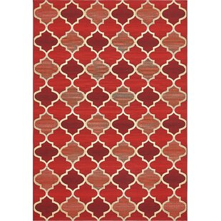 Alice Red Indoor/Outdoor Area Rug