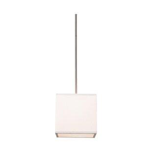 Latitude Run Stabile 2-Light Square/Rectangle Chandelier