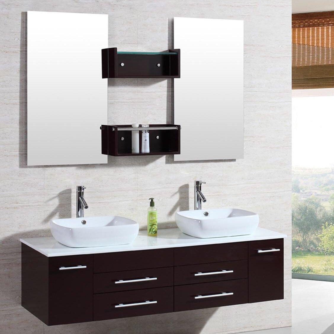 Double Kokols Bathroom Vanities You Ll Love In 2021 Wayfair