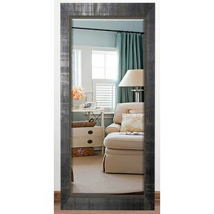Brayden Studio Beveled Black Wall Mirror