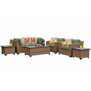 Waterbury 7 Piece Sofa Seating Group with Cushions