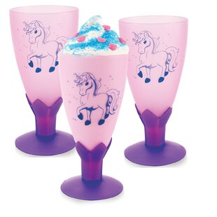 Enchanted Unicorn Molded Goblet Paper Disposable Every Day Cup