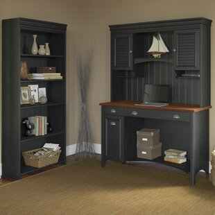 Carroll 3 Piece Desk Office Suite by DarHome Co