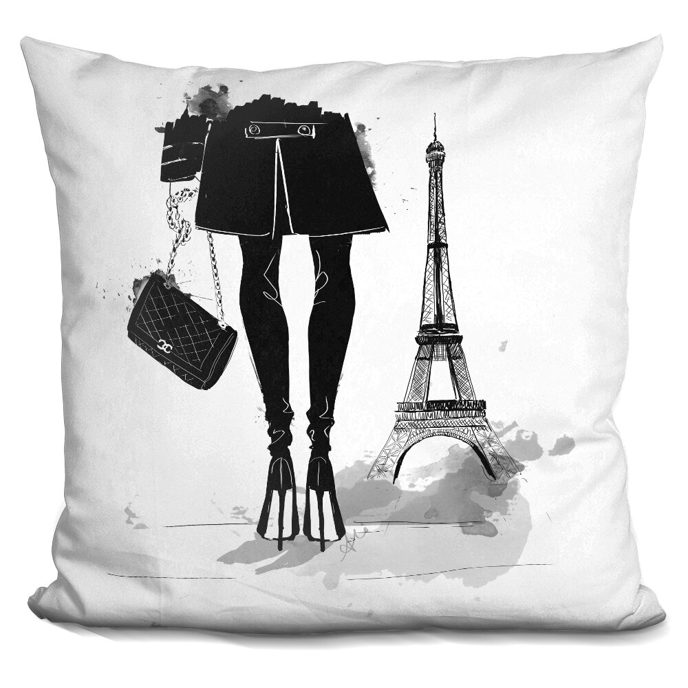 House Of Hampton Isaiah Paris Is Always A Good Idea Throw Pillow