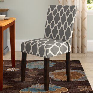 Conde Upholstered 2 Pieces Dining Chair (Set of 2) Red Barrel Studio