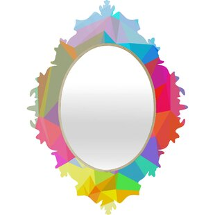 Deny Designs Three of the Possessed Crush Baroque Accent Mirror