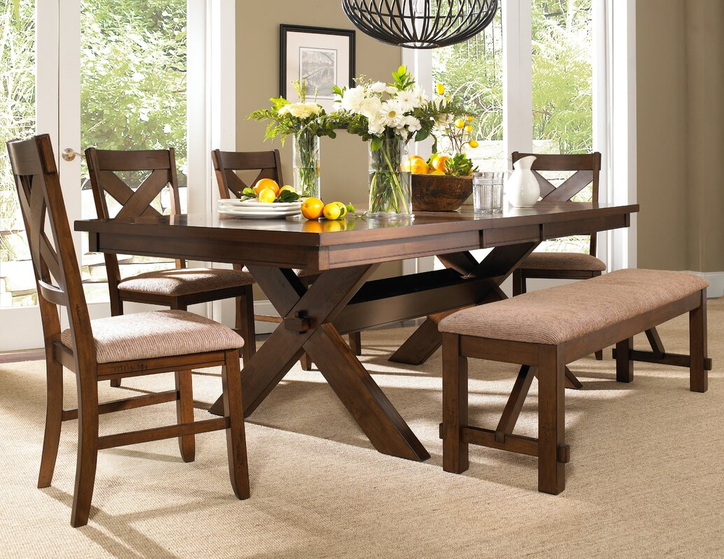 laurel foundry modern farmhouse isabell 6 piece dining set 6 piece kitchen dining room sets sku lrfy4927 default name