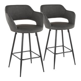 Seal rock 26 Bar Stool (Set of 2) Brayden Studio