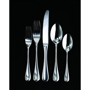 Firenze 4 Piece 18/10 Stainless steel Flatware Set, Service for 1
