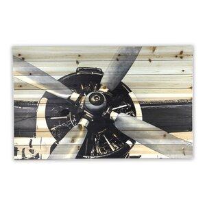 Airplane Wall Decor airplane propeller wall decor | wayfair