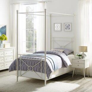 Berkey Canopy Bed by Winston Porter