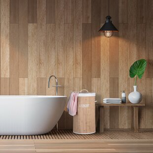 Bamboo Laundry Bin By Symple Stuff