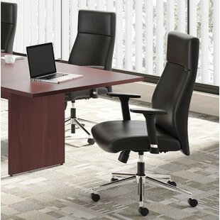 Mesh Genuine Leather Task Chair