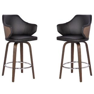 Steffens 26 Swivel Bar Stool (Set of 2) by Brayden Studio