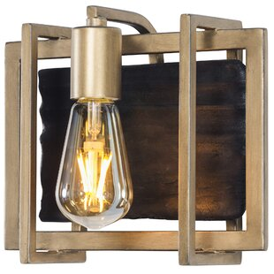 Crags 1-Light LED Bath Sconce by Mercer41