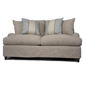 Seacoast T-Cushion Loveseat Slipcover Set by..