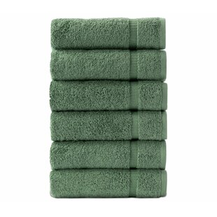 High Plain Turkish Cotton Hand Towel (Set of 6)
