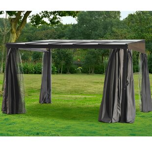 Sunjoy Lendor 10 Ft. W x 12 Ft. D Metal Patio Gazebo