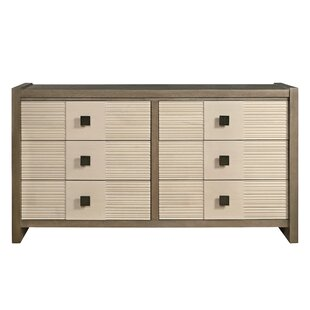 Dalke 6 Drawer Double Dresser
