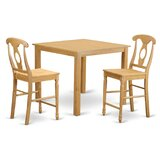 Cafe Counter Height Dining Set by East West Furniture