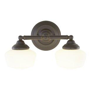 Laurel Foundry Modern Farmhouse Sainz 2-Light Vanity Light