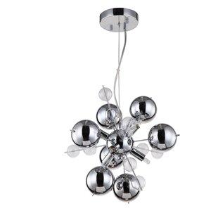 Orren Ellis Louie 6-Light Sputnik Chandelier