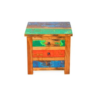 Check Prices First Mate Reclaimed Wood Side Table by EcoChic Lifestyles