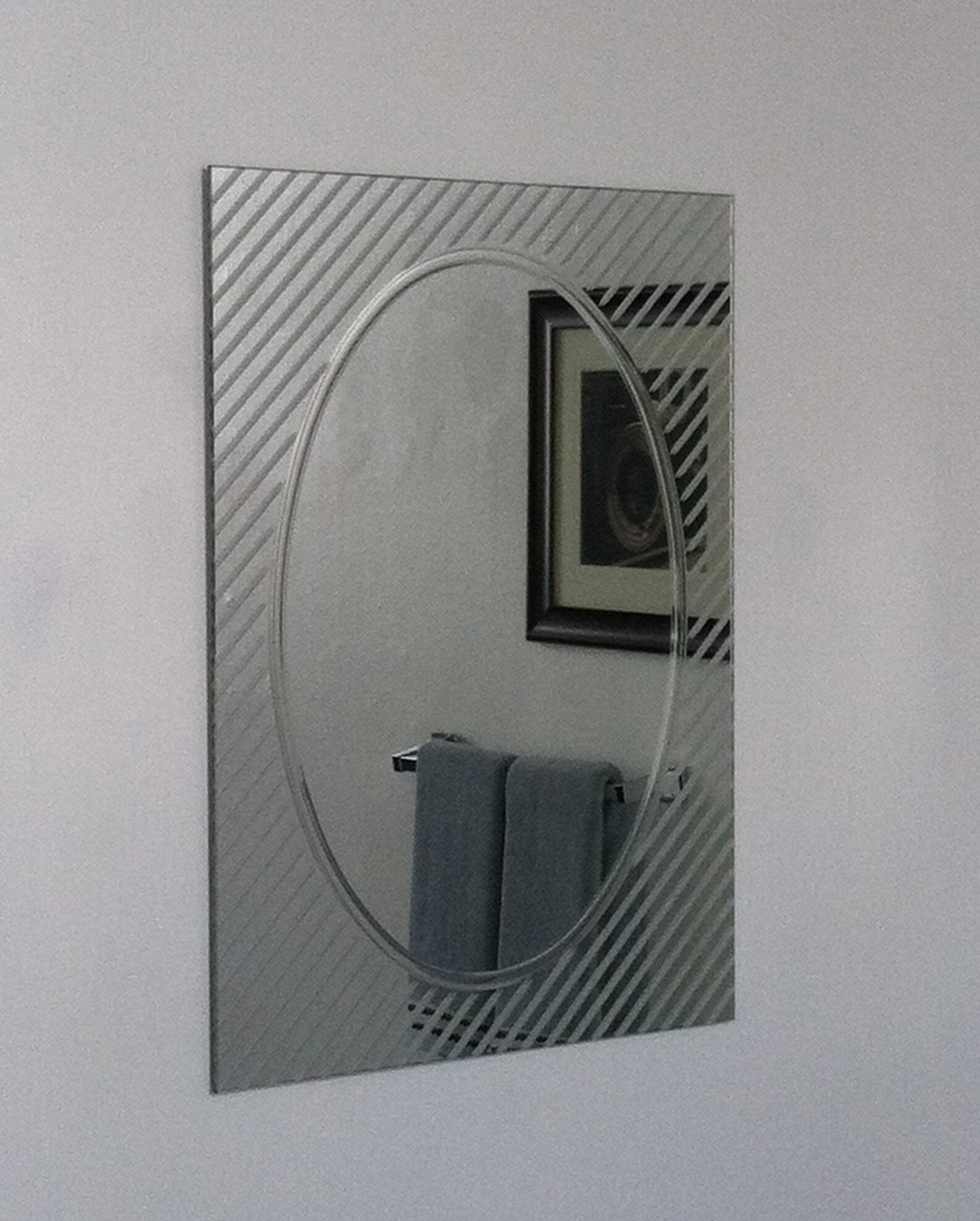 Decor Wonderland Allegro Modern Wall Mirror | Wayfair