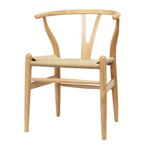 Baxton Studio Wishbone Solid Wood Dining Chair by Wholesale Interiors