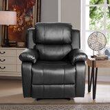Cantarero Power Reclining Heated Massage Chair by Latitude Run®