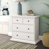 Breckenridge 4 Drawer Dresser by Beachcrest Home
