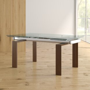 Lolita Extendable Dining Table Latitude Run