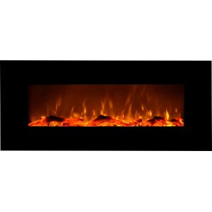 Fellman Wall Mount Electric Fireplace by Varick Gallery